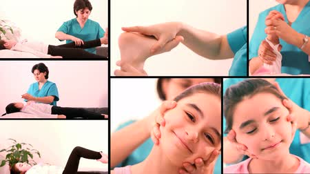 física : HD 1080 Montage: Therapeutic Exercise for people with mobility problems Vídeos