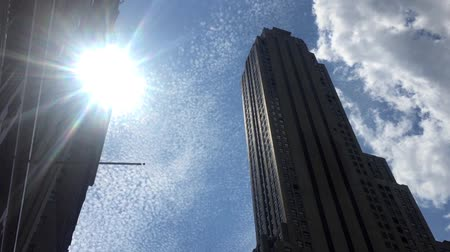 império : Noon at the Empire State Building Stock Footage