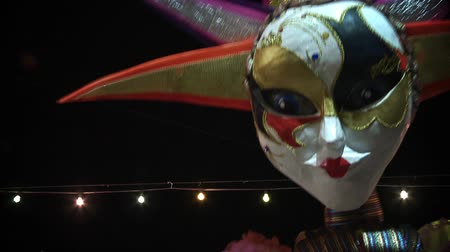 montevideo : Carnival Dolls in Uruguayan Carnival, Montevideo Stock Footage