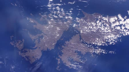 british aerospace : The Malvinas Islands (Falkland Islands) from Space.