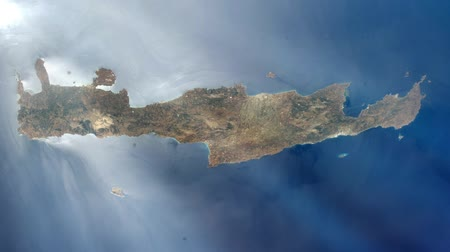 limpar : Crete Island (Greece) from Space.