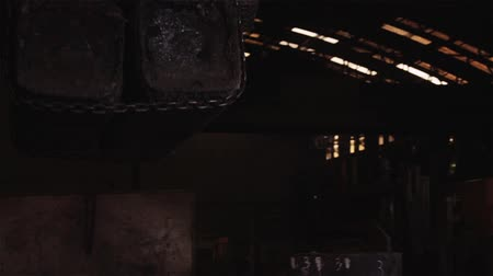 metallurgical plant : Hard Work in the Foundry.