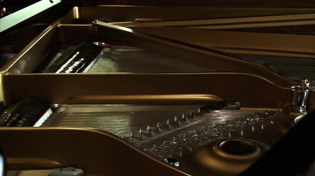 marfim : Inside An Old Classical Piano.