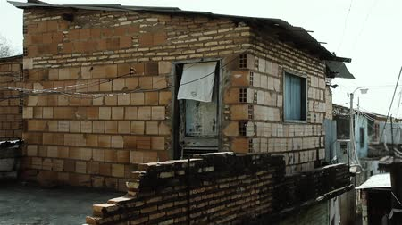 Poor Brick House In Asuncion, Paraguay.