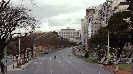 Traffic Of Buenos Aires (Argentina).