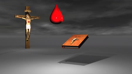 duch Święty : cross and blood