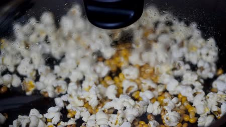 kitchenware : Just prepared popcorn on the stove