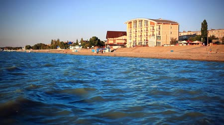 morze bałtyckie : Southern coast of Azov sea in summer view Of The hotel on the beach