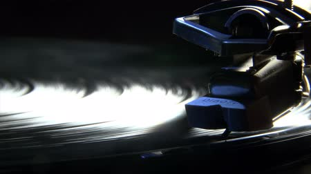 gravar : Record player, old style Stock Footage
