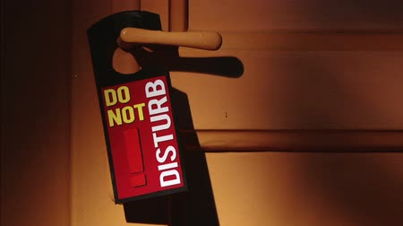 znak : Door sign - Do not disturb