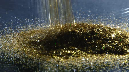 brilhar : Gold dust, closeup
