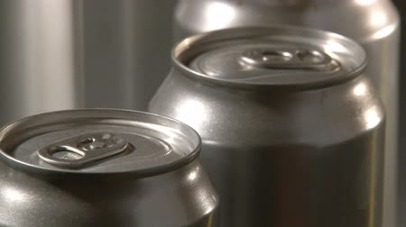 green soda can : Cans Factory, closeup, 2 clips