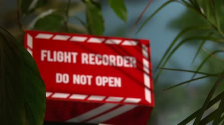 field measurements : Plants, Flight Recorder, Black box, shallow depth of field Stock Footage