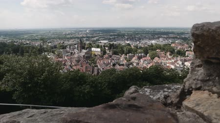 que vale a pena : View of Weinheim, Germany
