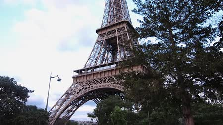 Eiffel Tower, Paris, low angle