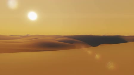 дюна : Flight over sand dunes