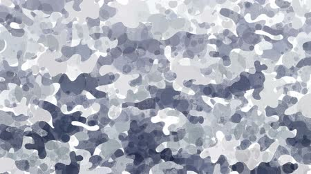 encanecido : Camouflage video background forms by abstract animated round blobs