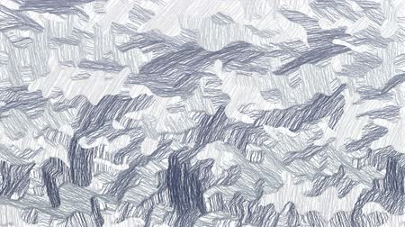pędzel : Hand drawn gray camouflage video background