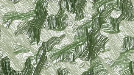 stroke : Hand drawn khaki green camouflage background