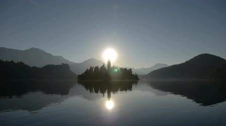 morning : Sunrise in Bled