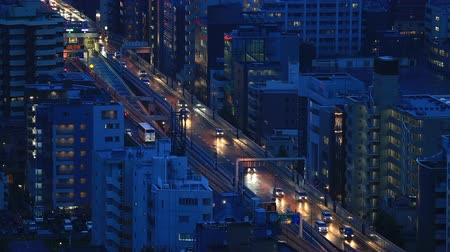 kanto district : Capital Expressway in the evening