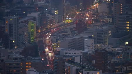 kanto : Capital Expressway from evening to night
