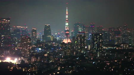 kanto district : Night view of Tokyo