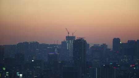 kanto district : Evening view of Tokyo