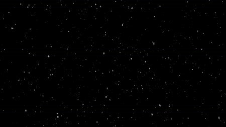 mysticism : Snow falling on a black background, ashes, small particles HD
