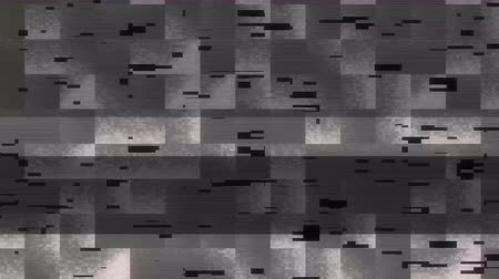 artifacts : Interference on the TV screen with color defects, noise and grain