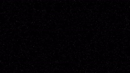 emit : Many twinkling small stars on a black background 4k