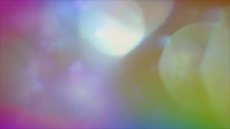 distorsiyon : Defocused multicolored background with colored solar flares on the surface HD 1920x1080