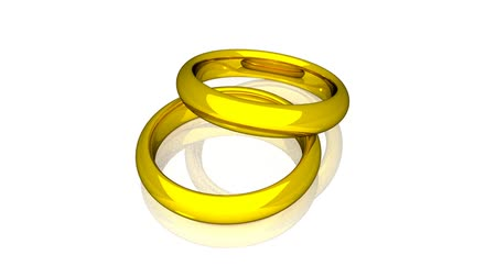 relação : Wedding Rings - Gold - Animation