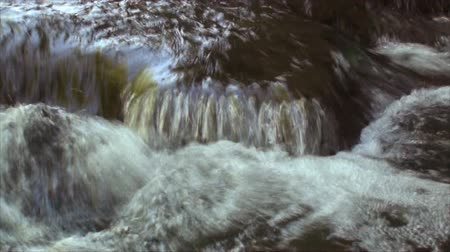 time flow : Close up of rushing stream 2 Stock Footage