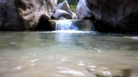 sulu : stream in  mountains during low water periods