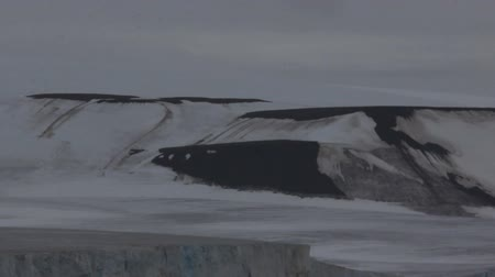 snowfield : Franz-Josef Land. Glaciers and snowbanks on Islands Payer.