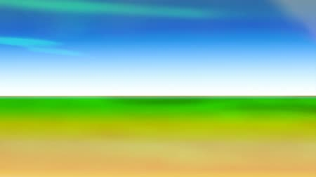 terra : Blue sky and green earth as well-being, but I got dizz. Concept of acceleration of life, hectic life, vanity, this planet. Abstract video Stock Footage