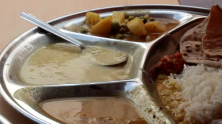 thali : Indian Food Platter Indian Holi is a vegetarian food Complete Metal in all of India, photos from Rajasthan