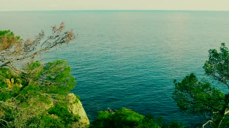 csikorog : View of the mountainous Mediterranean coast. The luxurious color of the sea and green forest