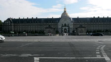 paving : Paris, France - 24.09.2017: Elysee palace (Palais de lÉlysée) in the Regency style, residence of the President of the French Republic, Elysee square