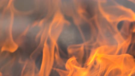 생기 : Flame, burning close-up. View of essence of fire due to slow motion of flames. Energy, fire as first element in universe, creation of peace, divine energy. Super slow motion 1000 fps