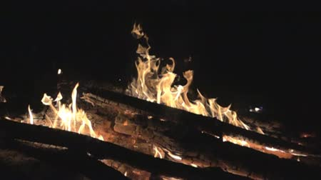 hag : Burning fire, flames. Super slow motion 1000 fps Stock Footage