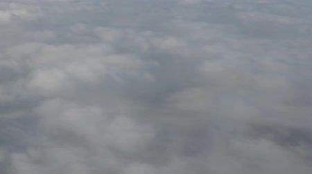celestial : Flying over the clouds, shooting from the airplane