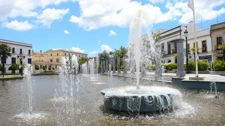 Андалусия : Mamelon Square in Jerez de la Frontera Spain
