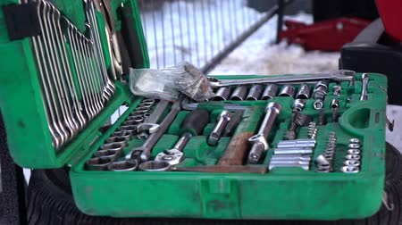 toolbox : Dolly shot. A set of tools for repair