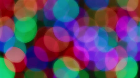 боке : Many large bokeh fast lights background Стоковые видеозаписи