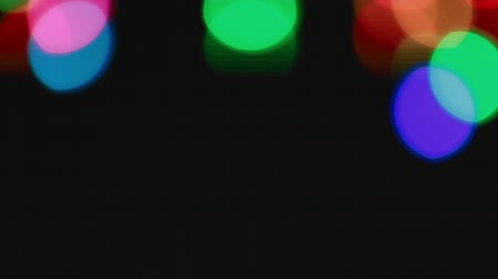 照らさ : Colorful large bokeh lights background for party 動画素材