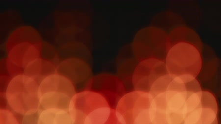 боке : Orange bokeh lights effect background for party