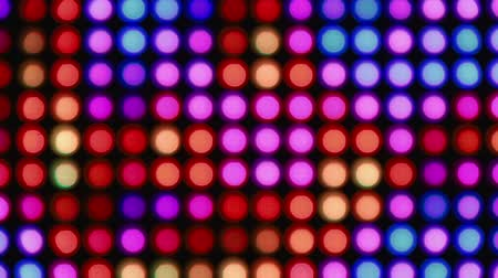 照らさ : Abstract colorful bokeh lights background for party
