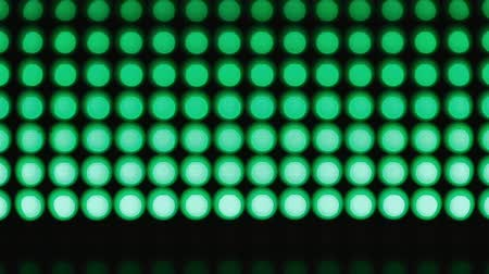 bolha : Lines green bokeh lights effect background for party Stock Footage